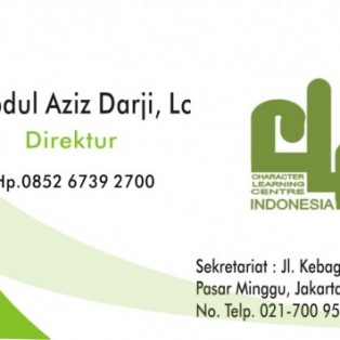 Kartu Nama CLC Indonesia (Character Learning Center Indonesia)